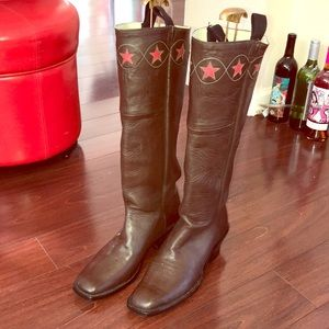 """Other - 17"""" Tall Cowboy Ridding Boots 10.5 Men's"""